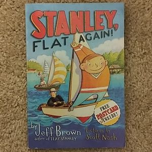 Stanley, Flat Again! Reading Level 2.8 Book